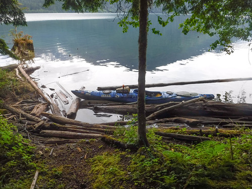 Kayaking on Baker Lake-142