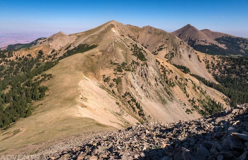 Manns Peak & Mount Waas