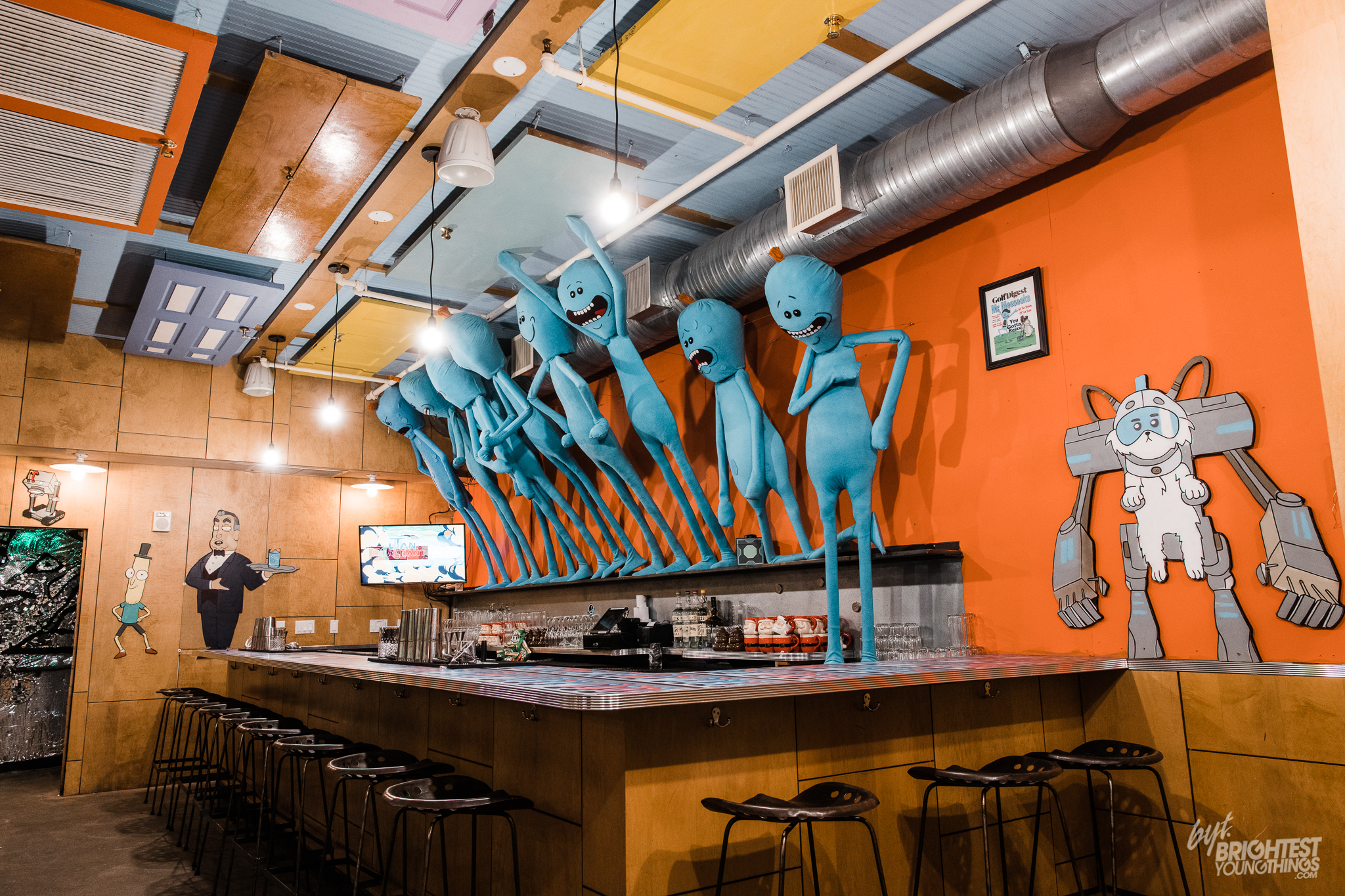 Get Schwifty at D C 's Rick And Morty Pop-Up Bar ⋆ BYT