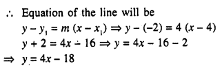 Selina Concise Mathematics Class 10 ICSE Solutions Chapter 14 Equation of a Line Ex 14C 5.1