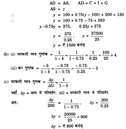 NCERT Solutions for Class 12 Macroeconomics Chapter 5 Government Budget and Economy (Hindi Medium) saq 18