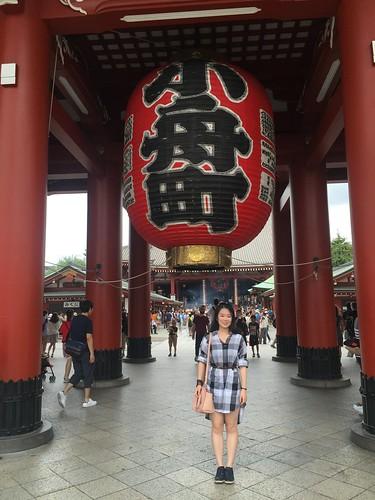 Tokyo Senso-ji. Elaine Jiang: #StudyAbroadBecause...there was nowhere to go but everywhere!