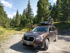 Our Subaru Ascent's first MTB Adventure