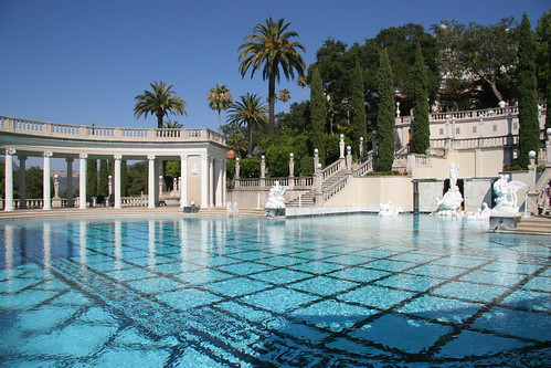 Neptune Pool at Hearst Castle by webmink