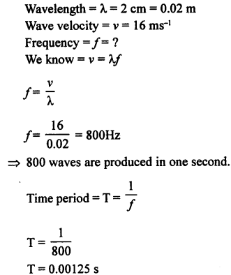 A New Approach to ICSE Physics Part 1 Class 9 Solutions Sound 10