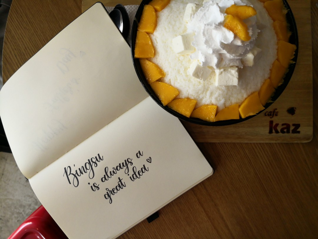 Paper Notes Journal with bingsu