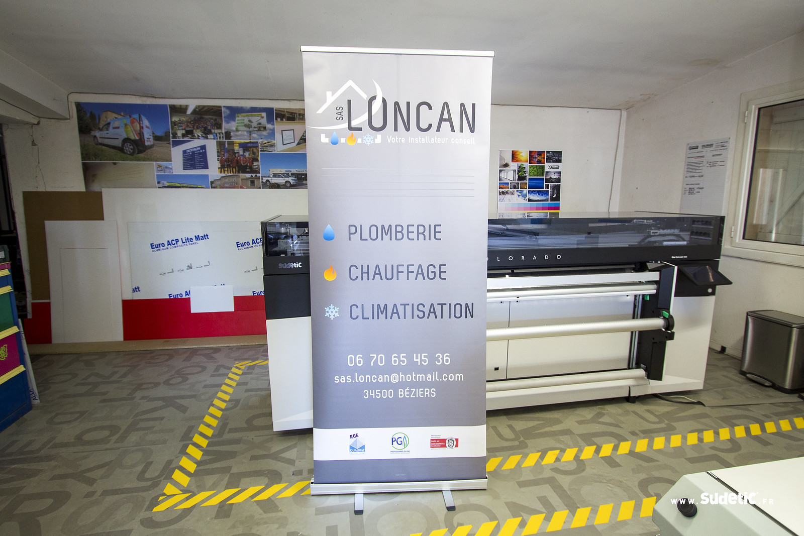 Sudeticstand Roll Up Loncan