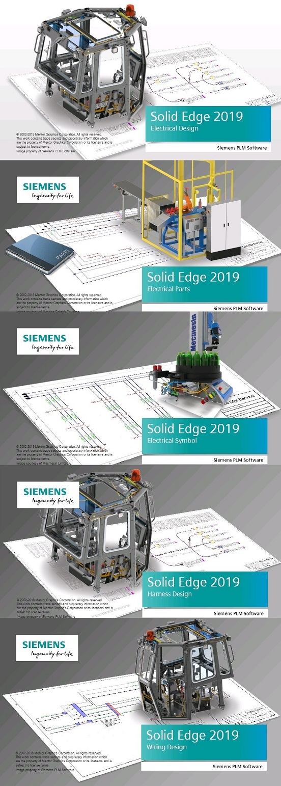 Siemens Solid Edge Electrical 2019 x64 full