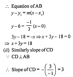 Selina Concise Mathematics Class 10 ICSE Solutions Chapter 14 Equation of a Line Ex 14E 34.2