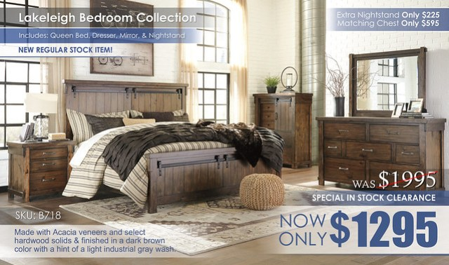 Lakeleigh Bedroom Set_InStockClearance_B718_REG