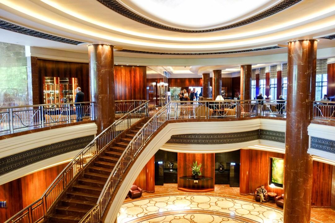 Lobby of Park Hyatt Melbourne