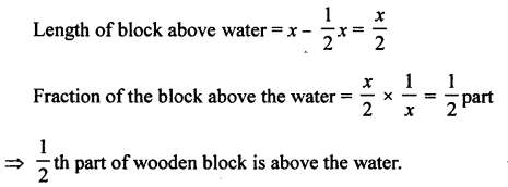 A New Approach to ICSE Physics Part 1 Class 9 Solutions Archimedes' Principle..0023