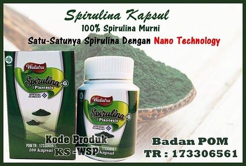 Cara Pemesanan Spirulina Kapsul