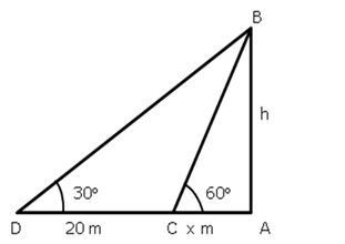 RS Aggarwal Solutions Class 10 Chapter 14 Height and Distance Ex 14a 28