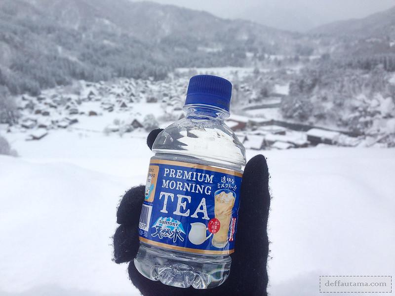 Babymoon ke Jepang - Premium Morning Tea
