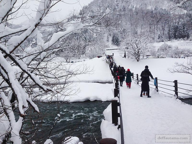 Babymoon ke Jepang - Suspension Bridge