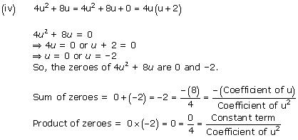 NCERT Solutions for Class 10 Maths Chapter 2 Polynomials 6