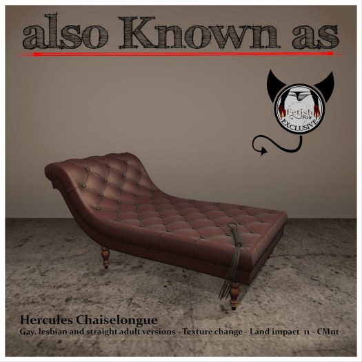 also Known as - Hercules Chaiselongue Red
