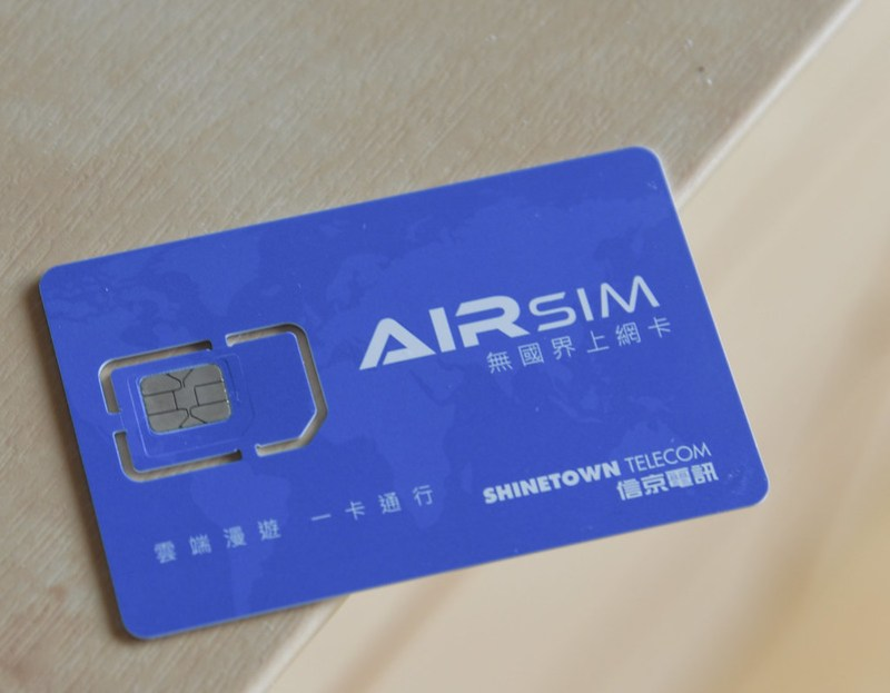 My Experience Using Airsim - Reusable Travel SIM Card With