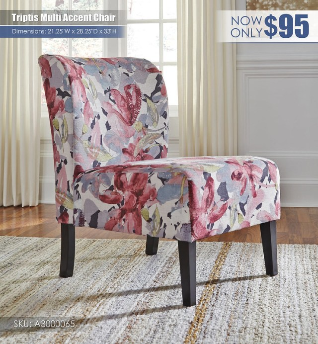 Triptis Multi Accent Chair_A3000065