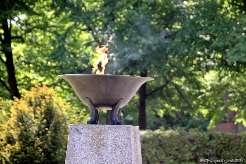 Gedenkveranstaltung zum 73. Jahrestag der Befreiung vom Nationalsozialismus und des Endes des Zweiten Weltkrieges in Europa
