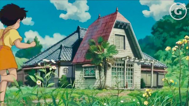 Satsuki and Mei's House in My Neighbor Totoro