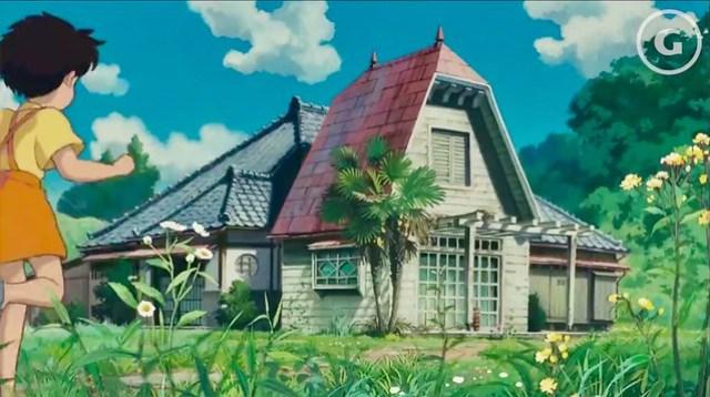 Satsuki and Mei's House in My Neighbor Totoro