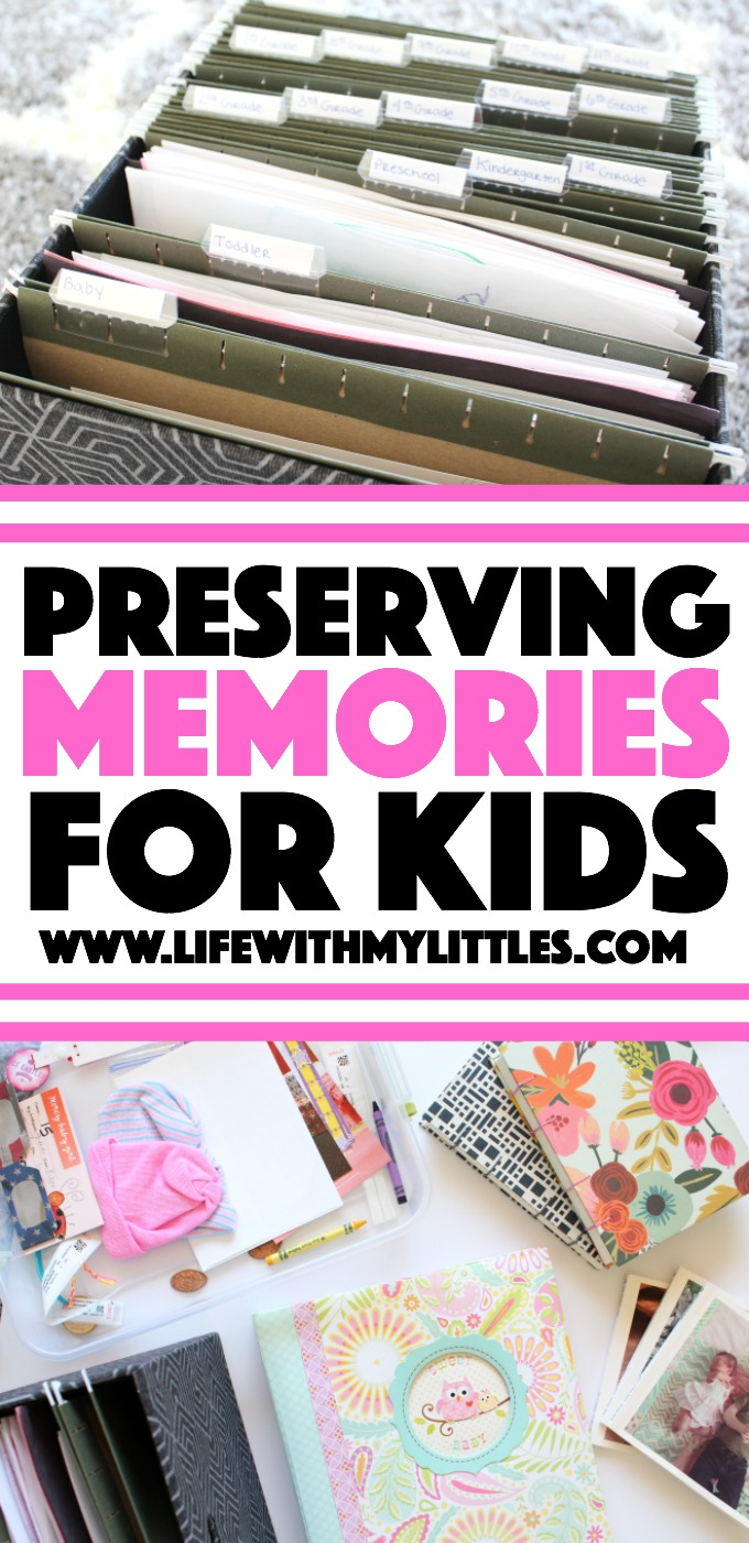 Eleven ideas for preserving memories for kids, from photo books to memory journals. There's something here for every mama!