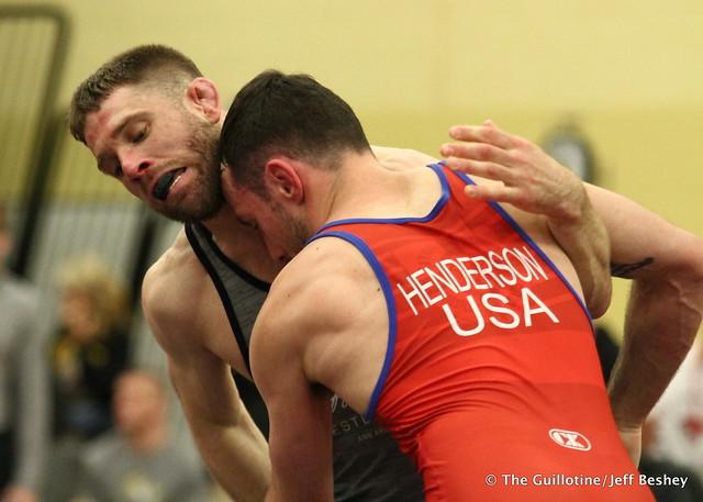 65  Evan Henderson (Titan Mercury Wrestling Club) VSU1 Andy Simmons (NYAC), 16-6 4:17. 180519AJF0089