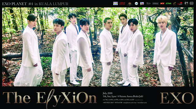 EXO PLANET #4 – The EℓyXiOn – in Kuala Lumpur