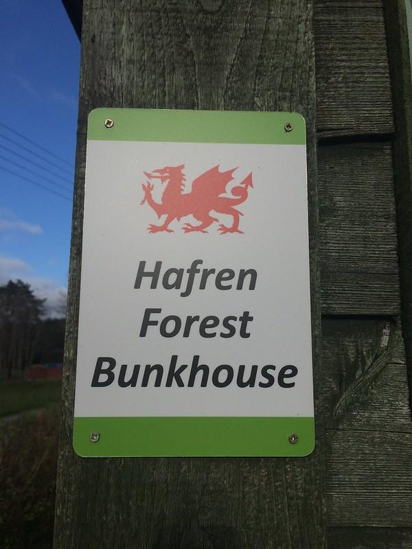The excellent Hafren Forest Bunkhouse