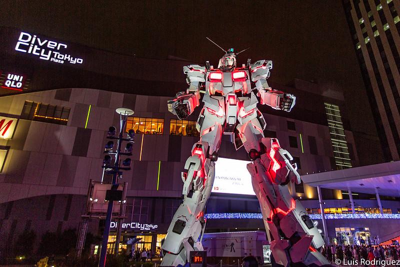 Gundam Unicorn en Odaiba