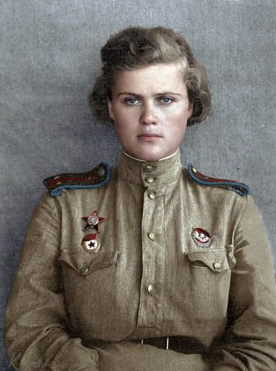Hero of the Soviet Union Evgeniya Rudneva | Герой Советского Союза Евгения Руднева