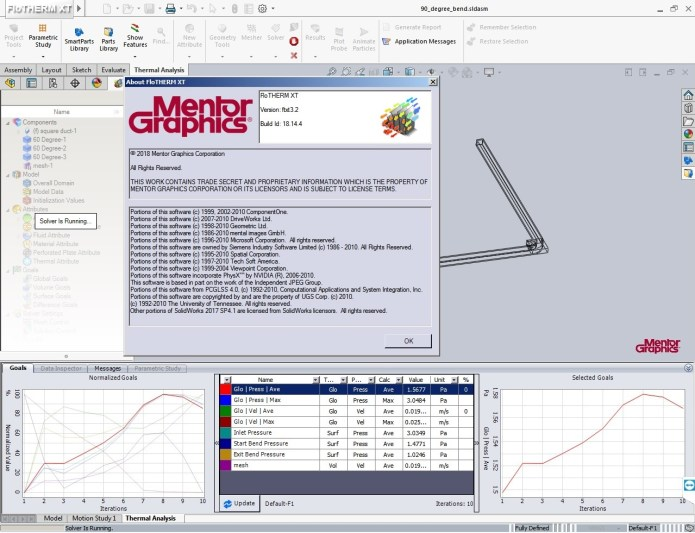 Working with Mentor Graphics FloTHERM XT v3.2 full license