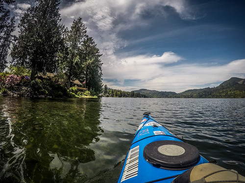 Lake Samish Paddling-39
