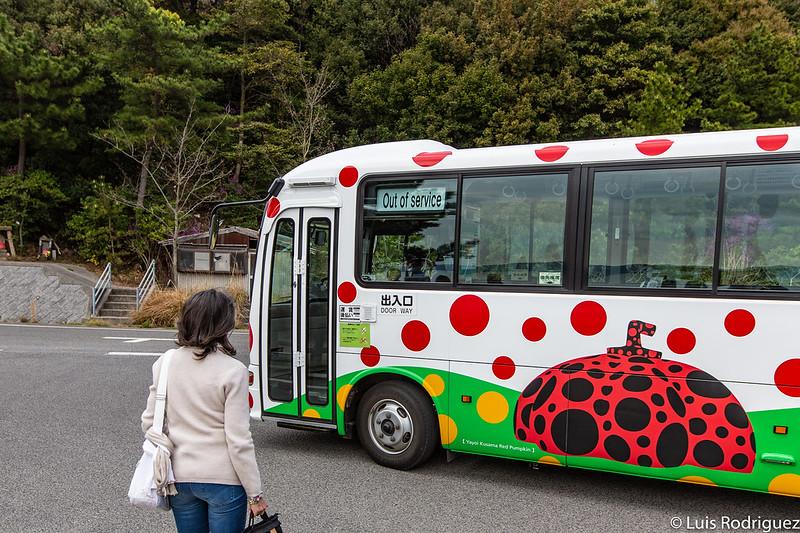 Autobús de Naoshima