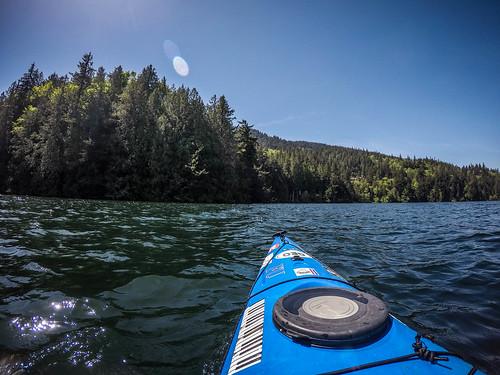 Lake Whatcom Paddling-27