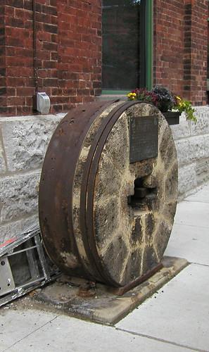 Distillery District - Original grindstone
