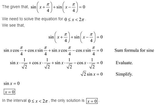 larson-algebra-2-solutions-chapter-14-trigonometric-graphs-identities-equations-exercise-14-6-34e