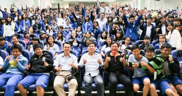 [夢想與工作同行]132場演講總回顧─深入企業與校園!持續綻放生命的意義