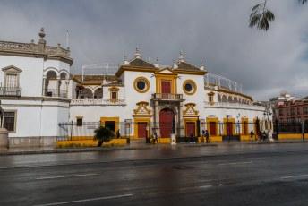 Dit is de Plaza de Toros waar helaas geen stierengevechten waren toen ik er was.