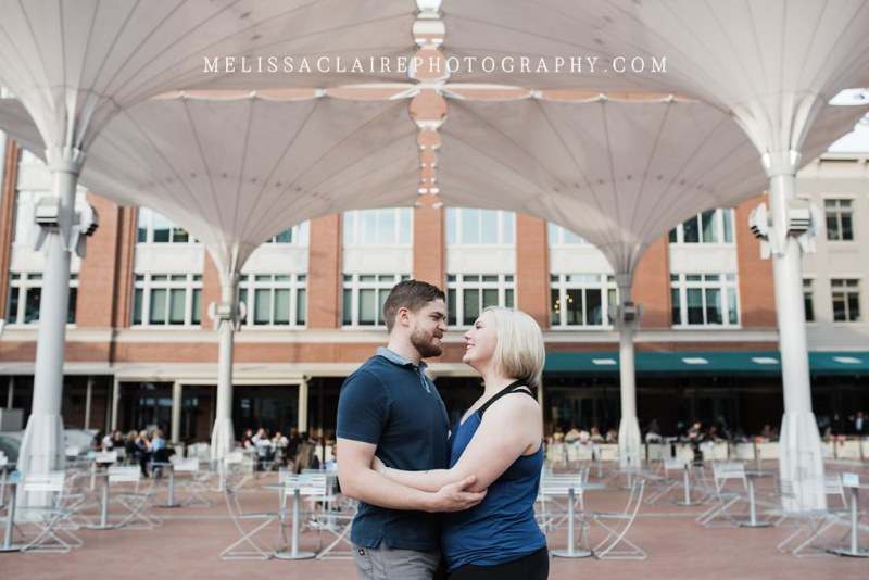 Sundance Square Engagement Photos