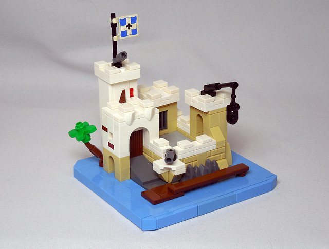 Micro LEGO 6276 Eldorado Fortress