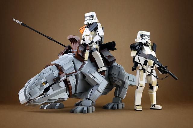 LEGO Dewback Sandtrooper