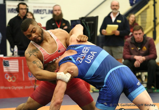 92kg: Hayden Zillmer (Minnesota Storm) vs Deron Winn (Titan Mercury). 180520AJF0574