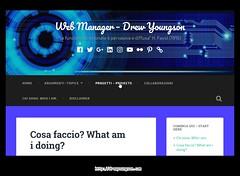 Sito web Drew youngson's Web Site
