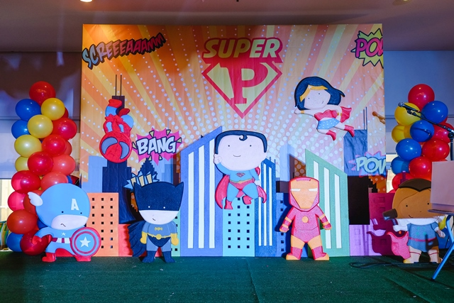 Prime S Super Heroes Themed Party 1st Birthday Party Doll Manila