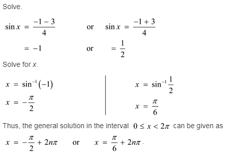 larson-algebra-2-solutions-chapter-14-trigonometric-graphs-identities-equations-exercise-14-6-61e1