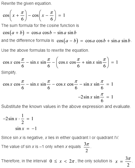 larson-algebra-2-solutions-chapter-14-trigonometric-graphs-identities-equations-exercise-14-6-33e