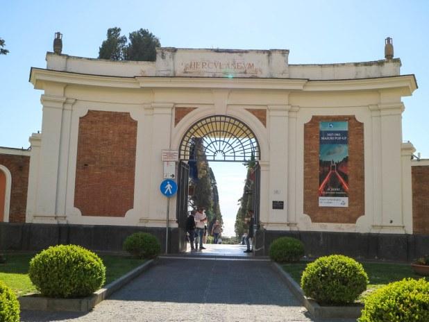 Acceso a Herculano